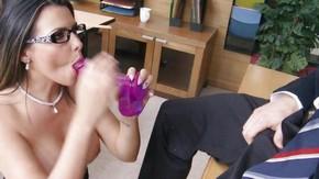 Порно видео девушки в очках